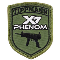 Tippmann X-7 Phenom Paintball Patch With Velcro