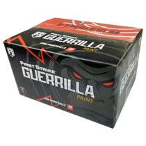 First Strike Guerrilla Paintballs 2000 Count