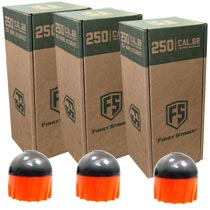 First Strike Rounds 250 Count Smoke Orange Shell Orange Fill - 3 BOXES FOR PRICE OF 2 (750 rounds total)
