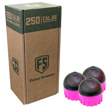First Strike Rounds 250 Count Smoke Pink Shell Pink Fill