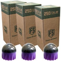 First Strike Rounds 250 Count Smoke Purple Shell Orange Fill - 3 BOXES FOR PRICE OF 2 (750 rounds total)