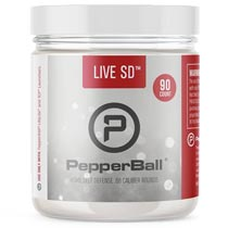 PepperBall Live SD Projectiles 90 Rounds .68 Caliber