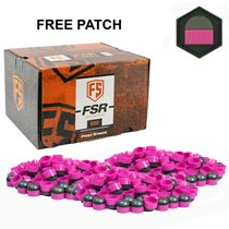 First Strike Rounds 600 Count Smoke Pink Shell Pink Fill FREE Limited Edition Patch