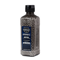 Valken Tactical 6MM .25g Airsoft BB's White 2500CT