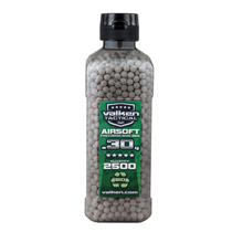 Valken Tactical 6MM Bio .30g Airsoft BB's White 2500CT