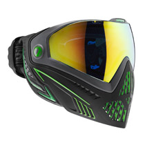 Dye I5 Thermal Paintball Goggles Emerald Black/Lime