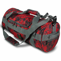 Eclipse Hold All Paintball Duffle Bag Fire