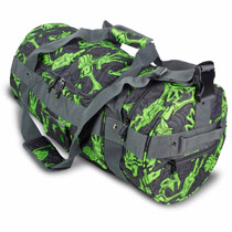 Eclipse Hold All Paintball Duffle Bag Stretch Poison