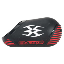 Empire Tank Cover Black Red White 68ci
