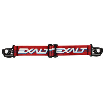 Exalt Empire E-Flex Helix Goggle Strap Retro Red Blue