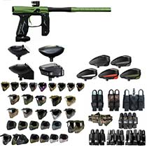 Empire Axe 2.0 Paintball Marker Green/Black - Black Friday Special