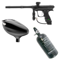 Dye / Proto Rize Paintball Marker Rookie Package Black Dust