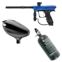 Dye / Proto Rize Paintball Marker Rookie Package Blue Dust