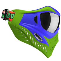 V-Force Grill Paintball Mask Cowabunga Series Blue/Green Euro Edition