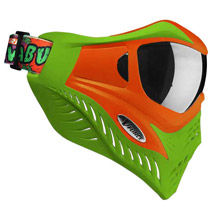 V-Force Grill Paintball Mask Cowabunga Series Orange/Green Euro Edition
