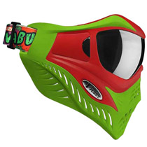 V-Force Grill Paintball Mask Cowabunga Series Red/Green Euro Edition