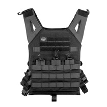 Valken Plate Carrier II Paintball Vest Black