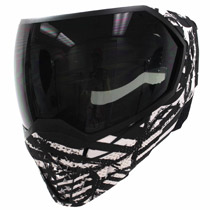 Empire EVS Thermal Paintball Mask LE White Zebra with 666 Serial Number