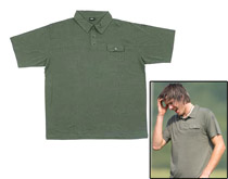 Empire Malibu Polo Shirt Olive Large