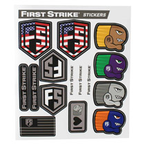 First Strike Sticker sheet