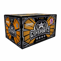 GI Sports 4 Star Paintballs 2000 Rounds Magna Shell Orange Fill