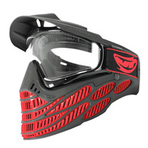 JT Flex 8 Thermal Paintball Goggles Red