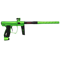SP Shocker XLS Paintball Marker Lime Dust