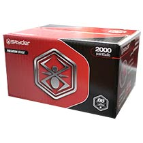 Spyder 2000 Paintballs Metallic Red/Pink Shell Pink Fill