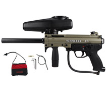 Tippmann A-5 Paintball Marker W/ Selector Switch Dark Earth