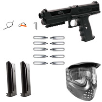 Tippmann TiPX Paintball Pistol Scout Package - Black