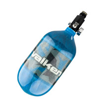 Valken Zero-G 68ci 4500psi Carbon Fiber Compressed Air Tank Riot Blue
