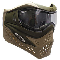 VForce Grill Paintball Mask Thermal Dual Olive Drab-Desert Tan