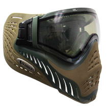 VForce Profiler Paintball Mask Thermal Dual Olive Drab Desert Tan Swamp