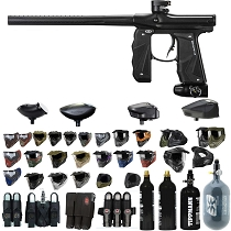 Empire Mini GS Paintball Gun Black / Black - Black Friday Special 2019
