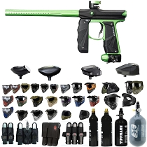 Empire Mini GS Paintball Gun Black / Lime - Black Friday Special 2019