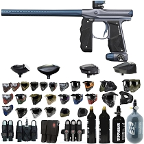 Empire Mini GS Paintball Gun Gray/Navy - Black Friday Special 2019