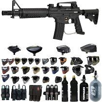 US Army Alpha Black Elite Paintball Gun - Black Friday Special 2019