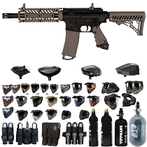 Tippmann TMC Mag Fed Paintball Marker Tan - Black Friday Special 2019