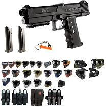 Tippmann TiPX Paintball Gun Pistol - Black - Black Friday Special 2019