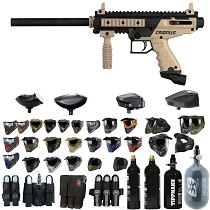 Tippmann Cronus Paintball Gun Tan / Black - Black Friday Special 2019
