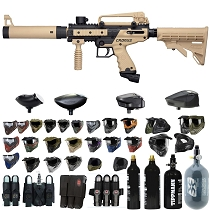 Tippmann Cronus Tactical Paintball Gun Tan / Black - Black Friday Special 2019