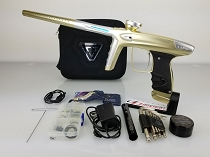 DLX Luxe ICE Paintball Marker Dust Champagne Dust Silver Accents USED