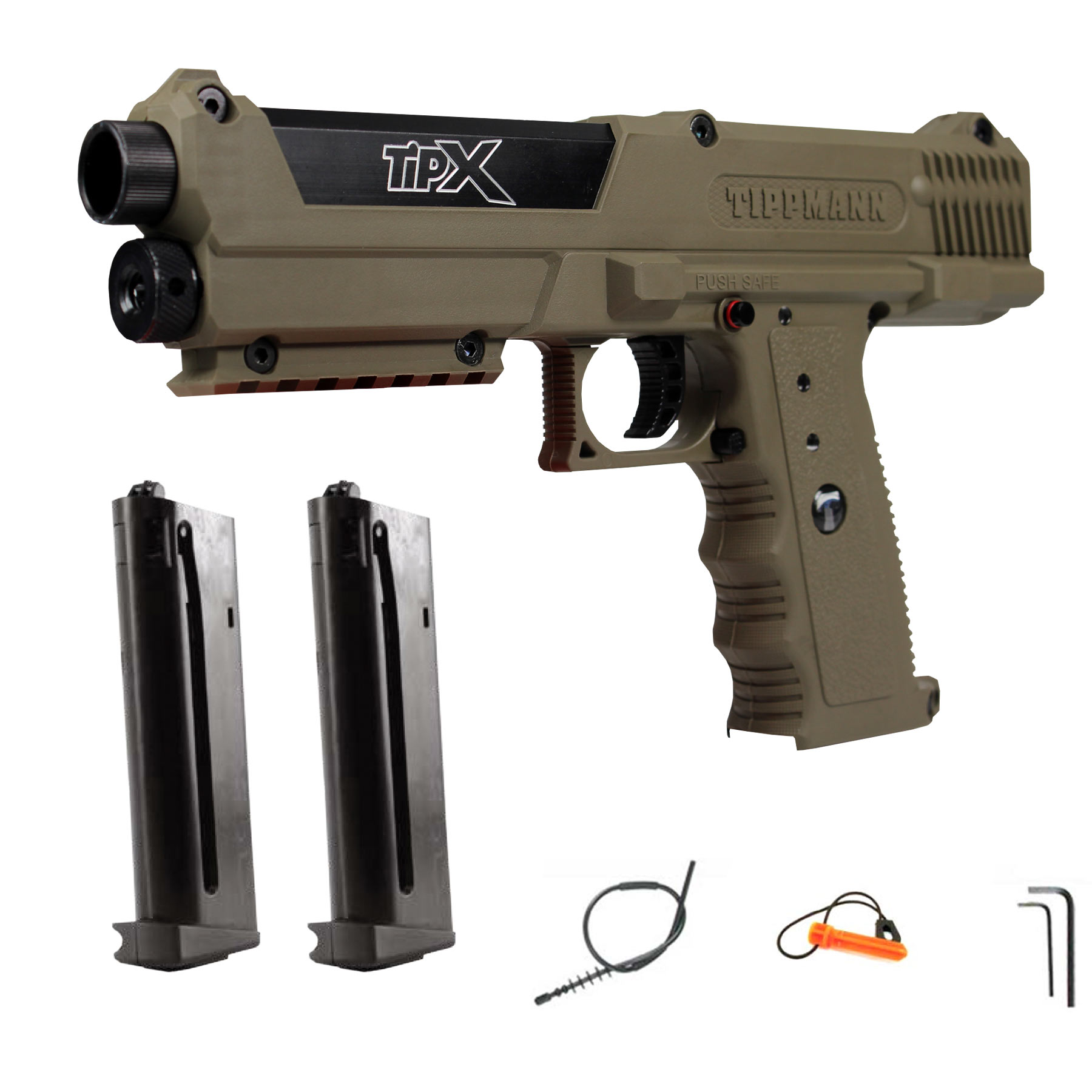 Paintball pistol