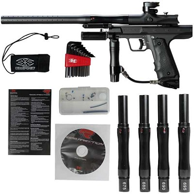 Empire Resurrection Autococker Paintball Gun Black Dust