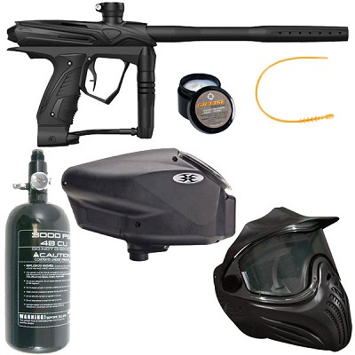 GOG eXTCy Paintball Gun With Blackheart Board Black Package B