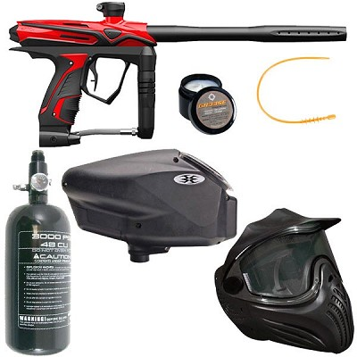 GOG eXTCy Paintball Gun With Blackheart Board Red Package B