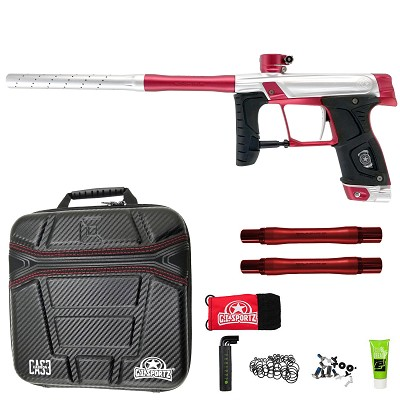 GI Sportz Stealth 160R Paintball Marker Silver Red