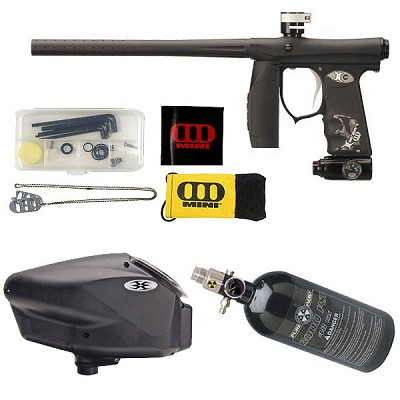 Empire Mini Paintball Gun Black Dust Package D