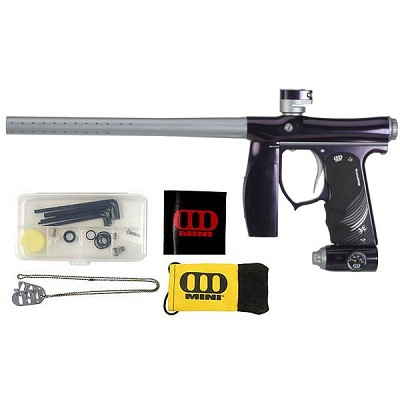 Invert Mini Paintball Gun - Polished Purple/Silver Dust Special Edition