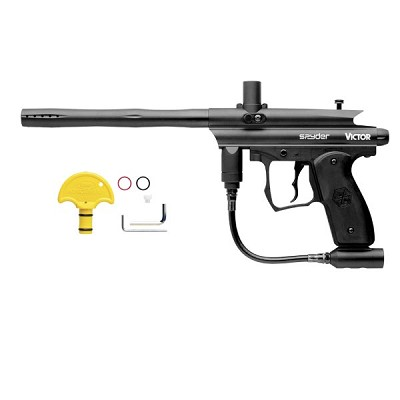 Spyder Victor 09 Paintball Gun Black